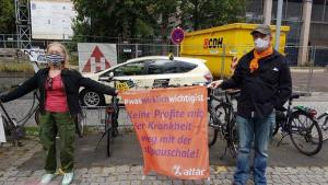 Köln Uni Kinik attac2 #1Mai2020