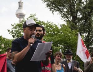 Sprecher botanischer Garten Berlin 190517_Wombats_Protest_Berlin