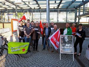 Wildau1 DGB Kreisverband Dahme-Spreewald/ SPD Wildau/ Mitglieder von Ver.di und Die Linke