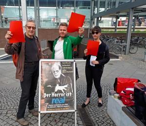 Wildau2 DGB Kreisverband Dahme-Spreewald/ SPD Wildau/ Mitglieder von Ver.di und Die Linke
